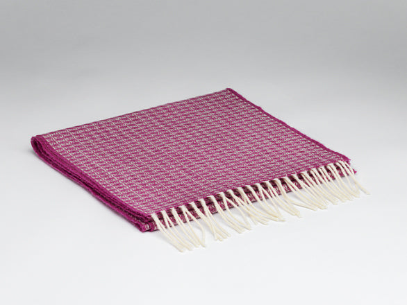 McNutt Of Donegal Oval Beetroot Scarf