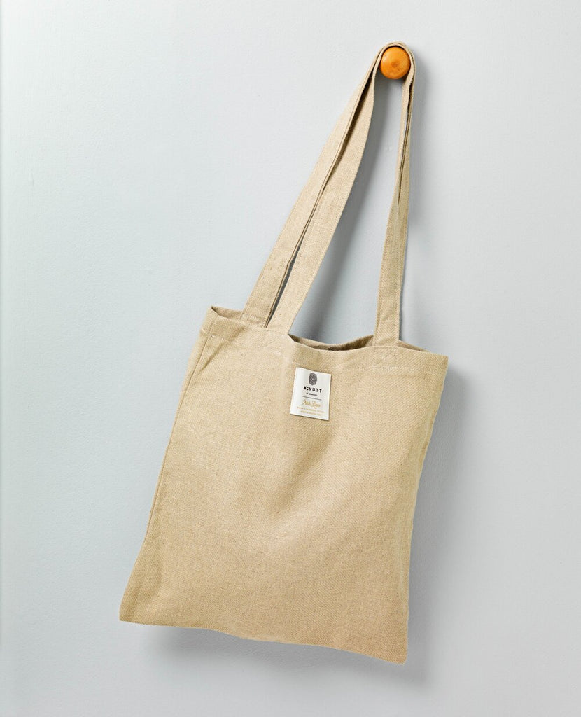 McNutt Of Donegal Irish Linen Shopper Natural