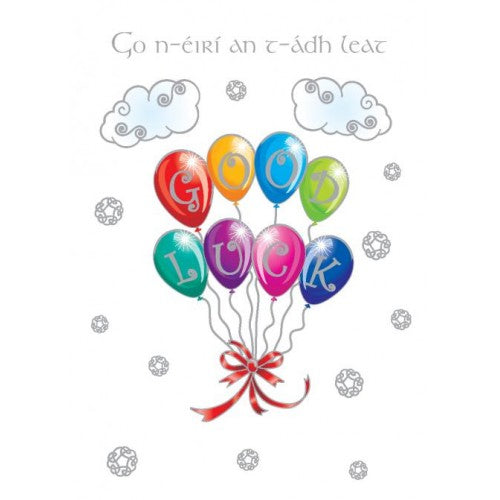 The Glen Gallery Good Luck Card Balloons