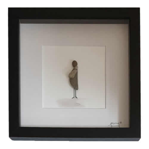 Stone the Crows Motherhood Box Frame Black