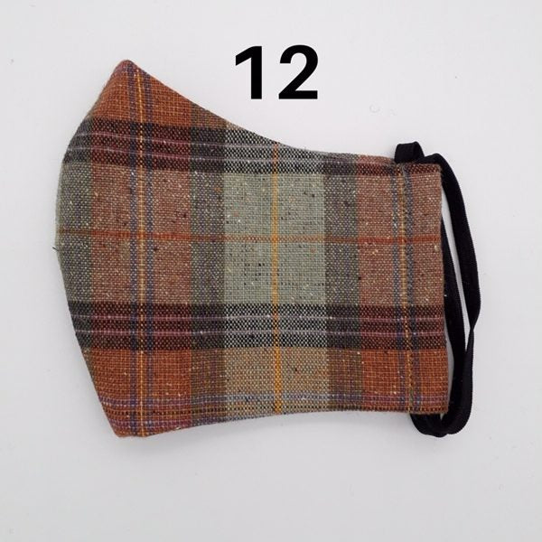 Donegal Irish Linen Face Mask (No 12)