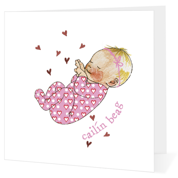 Big Leap Designs Cailín Beag (Baby Girl)