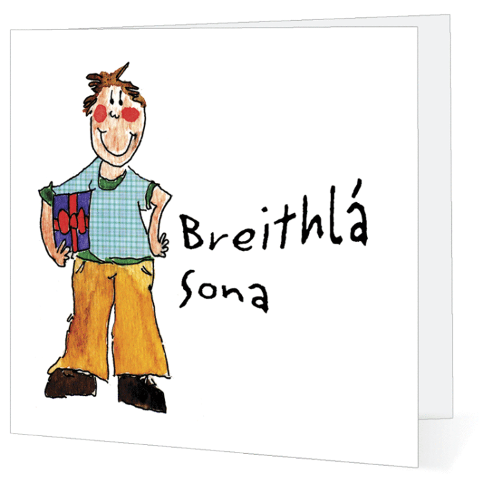 Big Leap Designs Breithla Sona! (Happy Birthday)