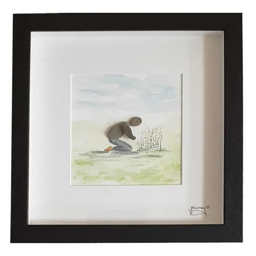 Stone the Crows Gardening Box Frame Black