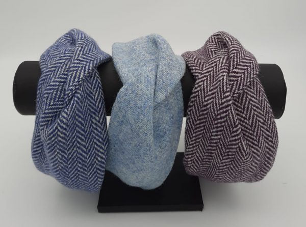 Carolina Donegal Tweed Hairbands