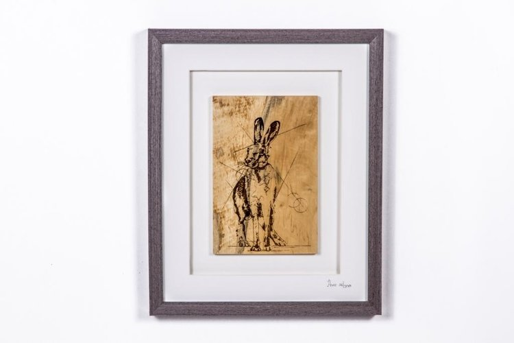 Caulfield Country Boards The Native Collection Framed Hare