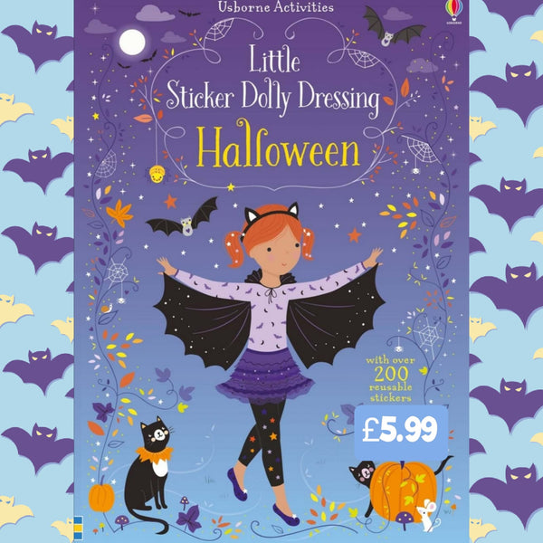 Little Sticker Dolly Dressing Halloween
