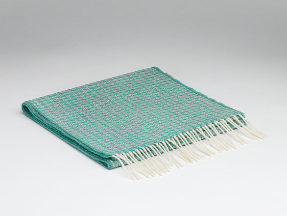 McNutt Of Donegal Oval Spearmint Scarf