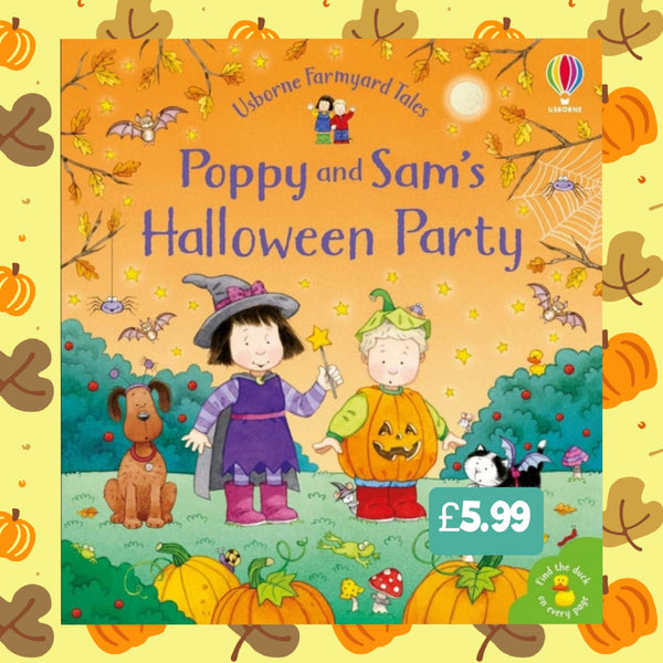 Poppy & Sam's Halloween Party