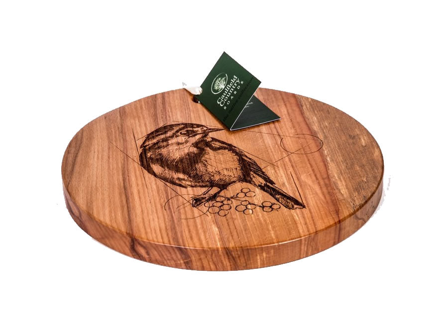 Caulfield Country Boards The Native Collection Round Robin Board