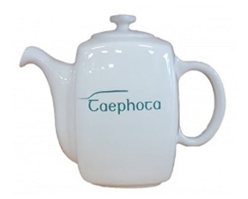 A Taste Of Carntogher Pottery Teapot Teal