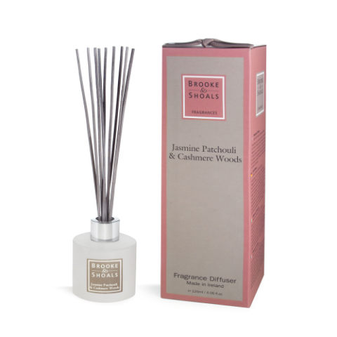 Brook & Shoals - Fragrance Diffuser Jasmine Patchouli and Cashmere Woods