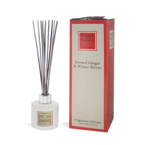 Brooke & Shoals - Fragrance Diffuser Frosted Ginger & Winter Berries
