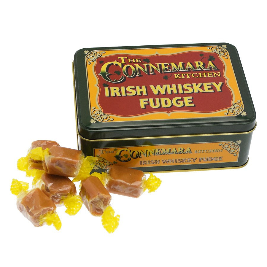 The Connemara Kitchen Irish Whiskey Fudge Tin