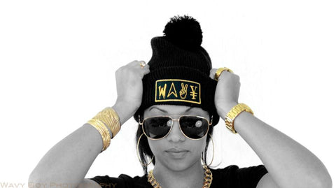 "Wavy Boy ""New Wave"" Beanie - Wavy Boy Clothing  - 2"