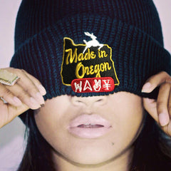 "Wavy Boy ""Made In Oregon"" Beanie - Wavy Boy Clothing  - 2"