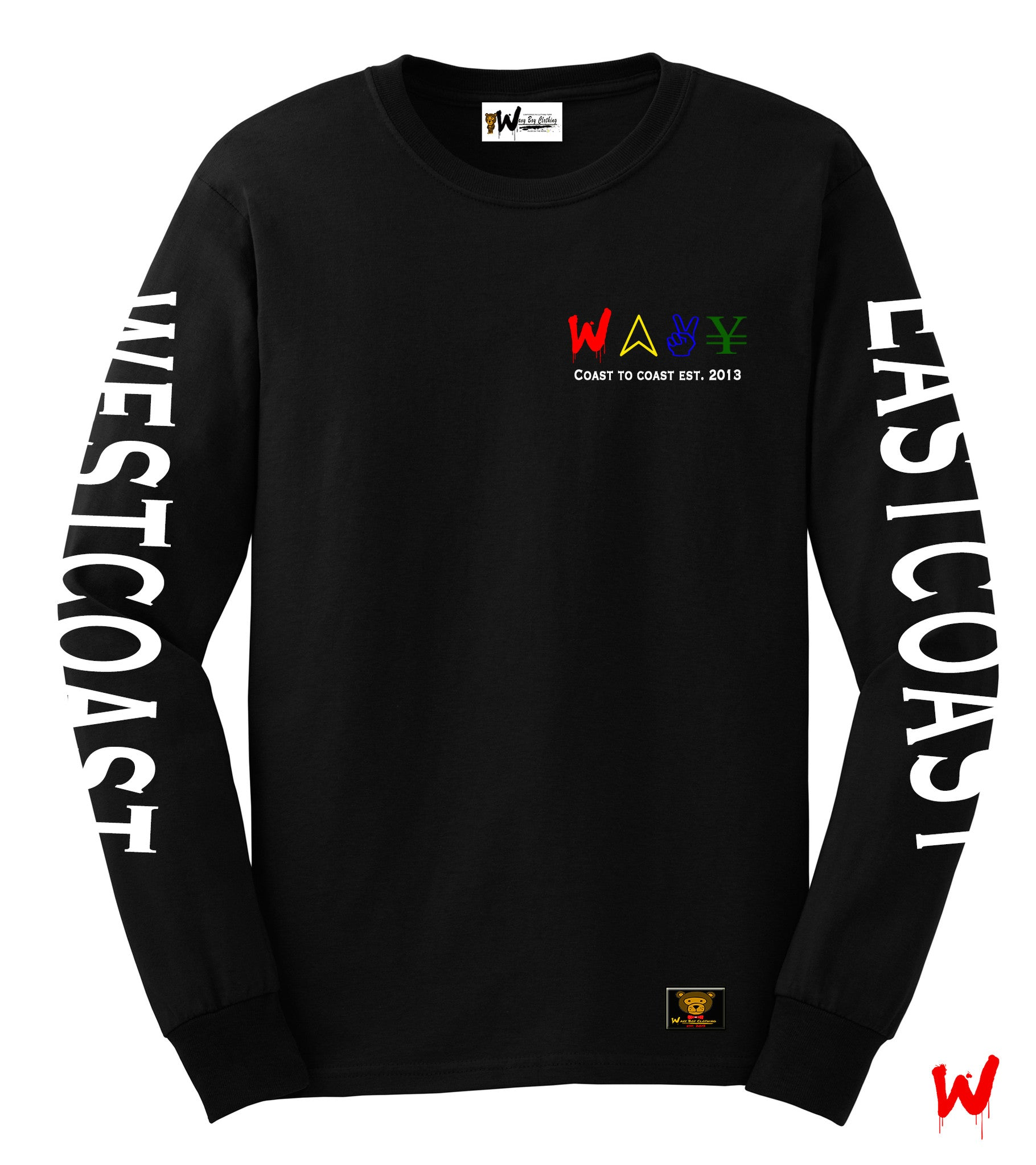 "Wavy Boy ""Coast"" tee - Wavy Boy Clothing"