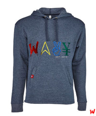 "Wavy Boy ""Color Wave"" pullover hoodie"