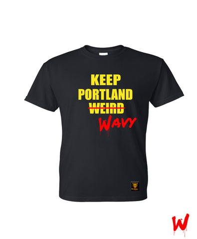 "Wavy Boy ""Keep Portland Wavy"" Tee - Wavy Boy Clothing"