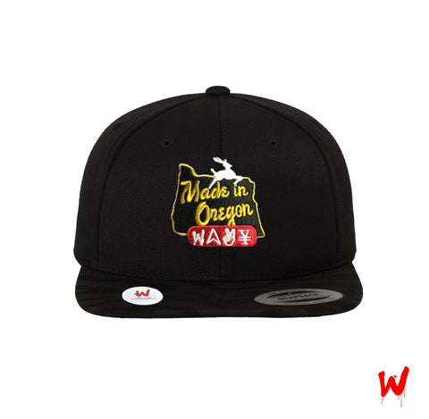 "Wavy Boy ""Made in Oregon"" Snapback"