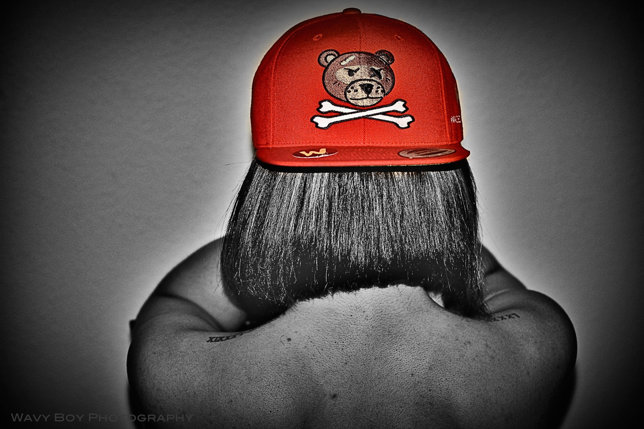 "Wavy Boy ""Wavy Bear"" Snapback - Wavy Boy Clothing  - 2"