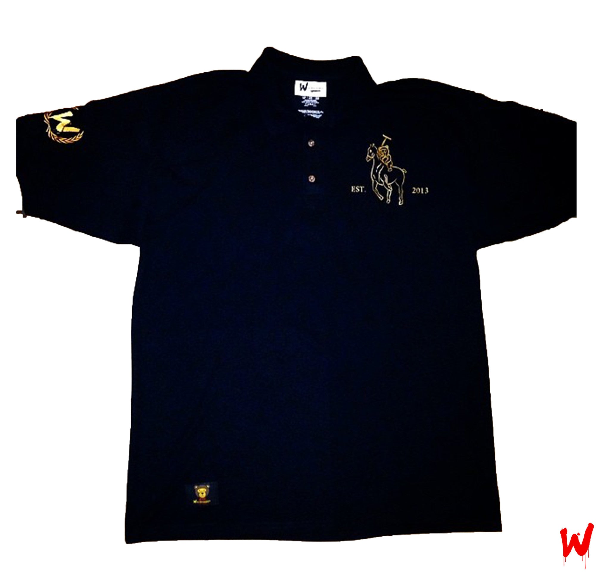 "Wavy Boy ""Wavy"" Polo - Wavy Boy Clothing  - 1"