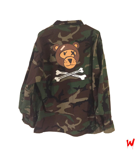 "Wavy Boy ""Camo"" Jacket - Wavy Boy Clothing  - 2"