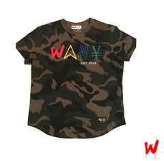 "Wavy Boy ""Color Wave"" camo tee(s) - Wavy Boy Clothing  - 2"