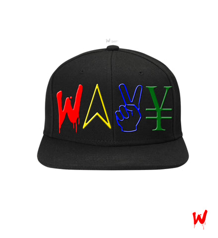 "Wavy Boy ""Color Wave"" snapback"