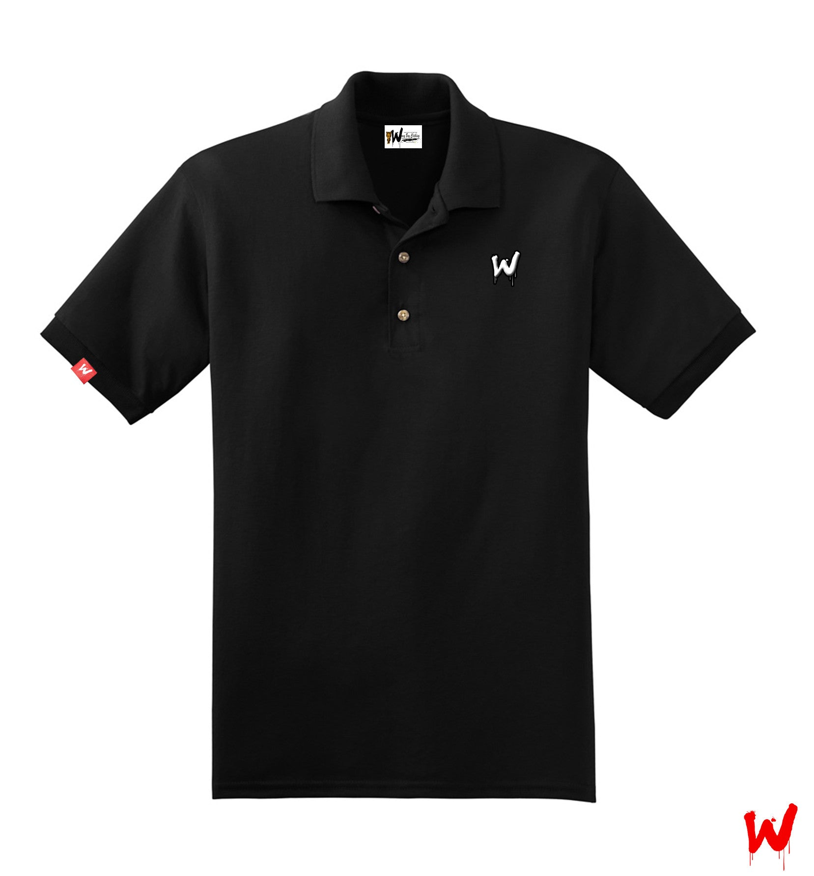 "Wavy Boy ""Drippy W"" polo - Wavy Boy Clothing"