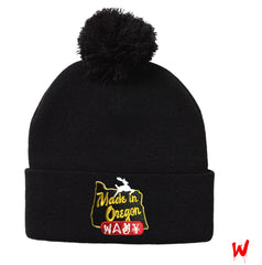 "Wavy Boy ""Made In Oregon"" Beanie - Wavy Boy Clothing  - 1"