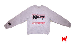 "Wavy Boy ""Wavy"" Cropped Crew - Wavy Boy Clothing  - 1"