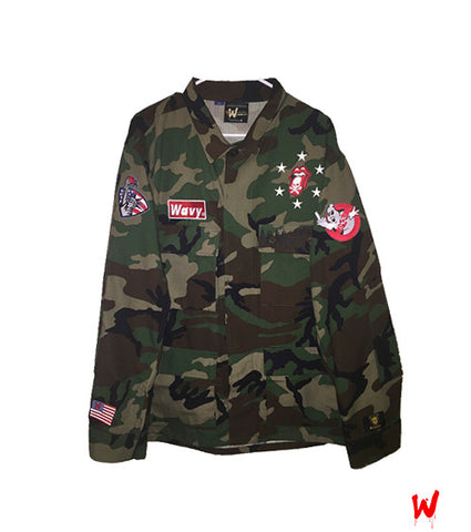 "Wavy Boy ""Camo"" Jacket - Wavy Boy Clothing  - 1"
