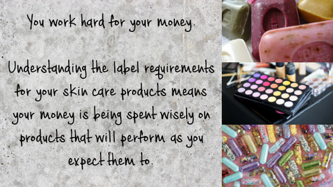 Image of handcrafted soap and cosmetics