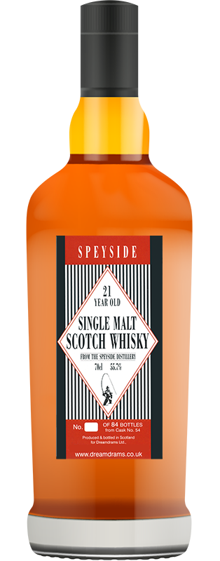21 Year Old Single Malt Whisky - SOLD OUT