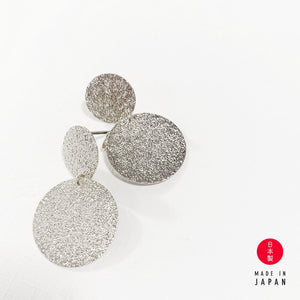 18K Stormy Coins - Silver