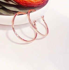 Arc Twist - Rose Gold