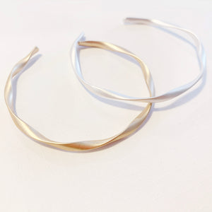 Wave Series - Bangle Matte Gold