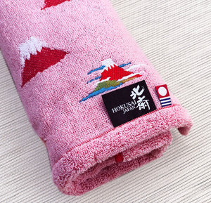 Imabari Hokusai Red Towel 赤富士 - M size