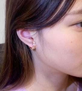Rum Dia EarCuff x Ring - Rose Gold