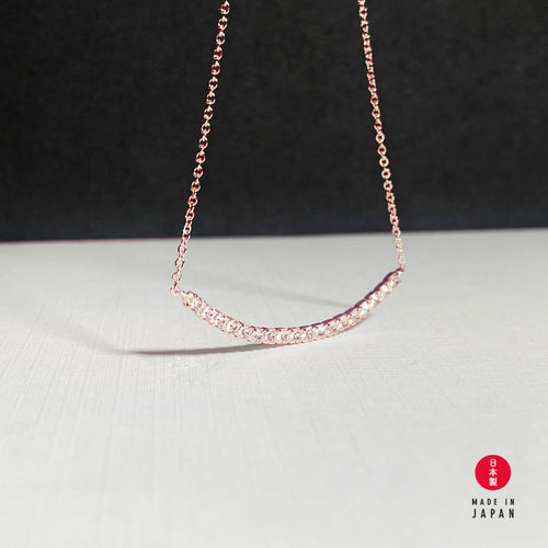 18K Smiling Dia - Rose Gold