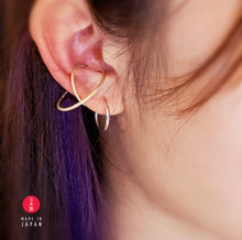 Load image into Gallery viewer, Universe Series - 18KGP 3D EarCuff - Gold 22