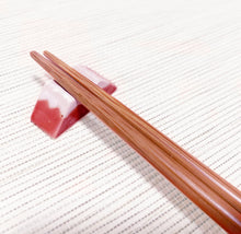 Load image into Gallery viewer, Chopsticks Rest - Mt. Fuji RED 美濃焼