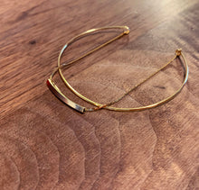 Load image into Gallery viewer, Swing Series - 18K Bracelet Bangle - Bar
