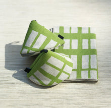 Load image into Gallery viewer, Table Mat - Lime + Grey