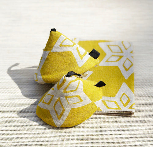 Pot Holder - Starry Yellow Set