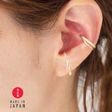 Load image into Gallery viewer, Parella - 18K GP Ring x Ear cuff