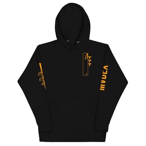 MVDEX bitcoin Orange Cyber Hornet Hoodie