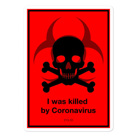 Killed by Coronavirus