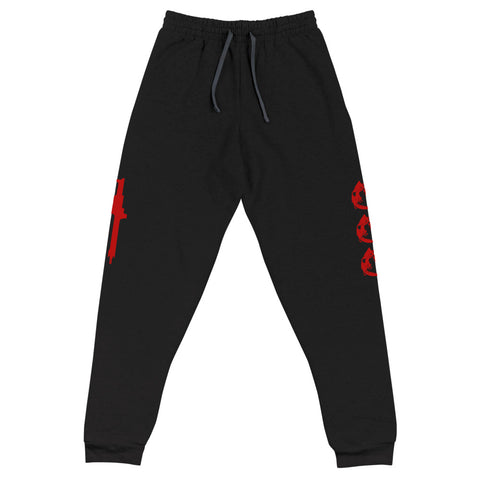 Saber Tooth Tiger Diamond Two Teeth Joggers